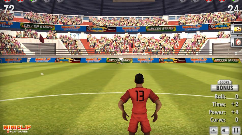 1a480470f Chces si zahrať futbal? Online futbalové hry na našom webe.